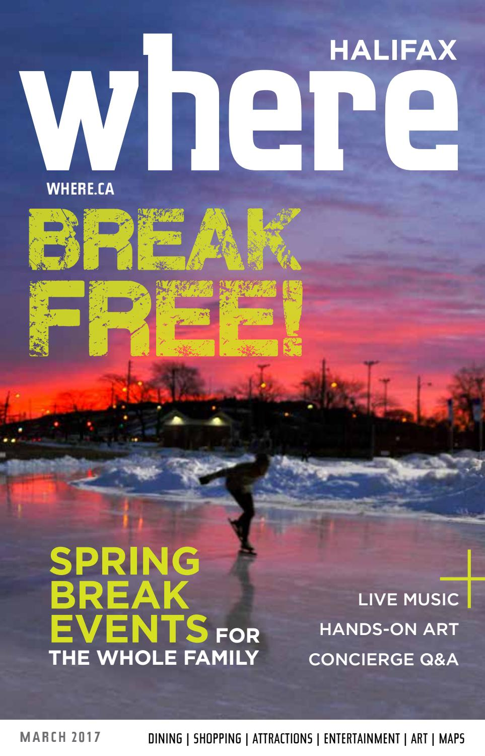 Where Halifax March 2017 By Metro Guide Publishing Issuu