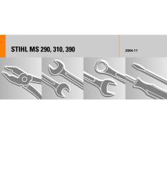 stihl farm bos m 290 part diagram [ 1124 x 1498 Pixel ]
