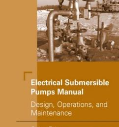 electrical submersible pumps manual design operations and maintenance [ 952 x 1500 Pixel ]