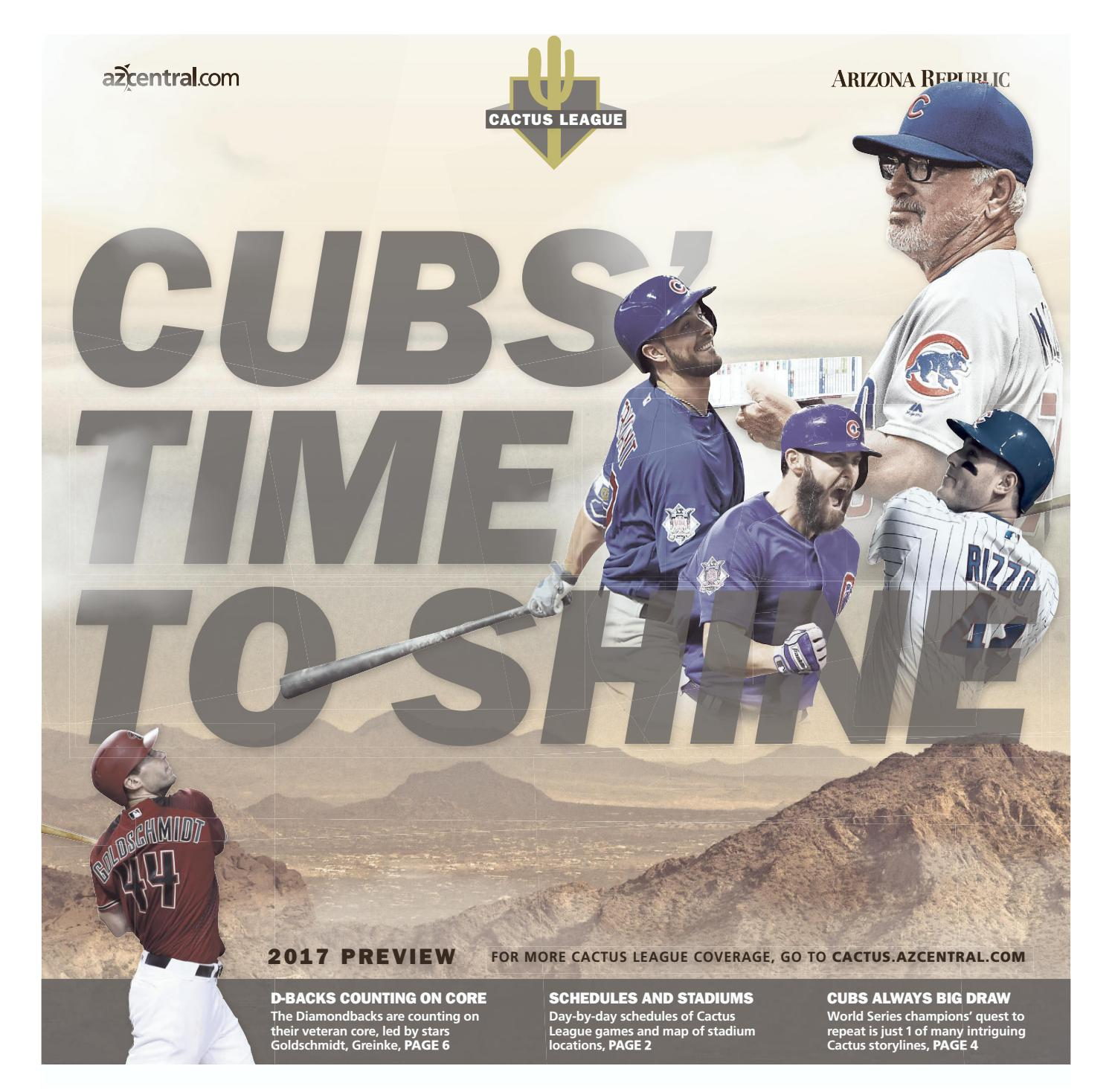 Cubs Cactus Leage 2 22 17 By Republic Media Content Marketing Issuu