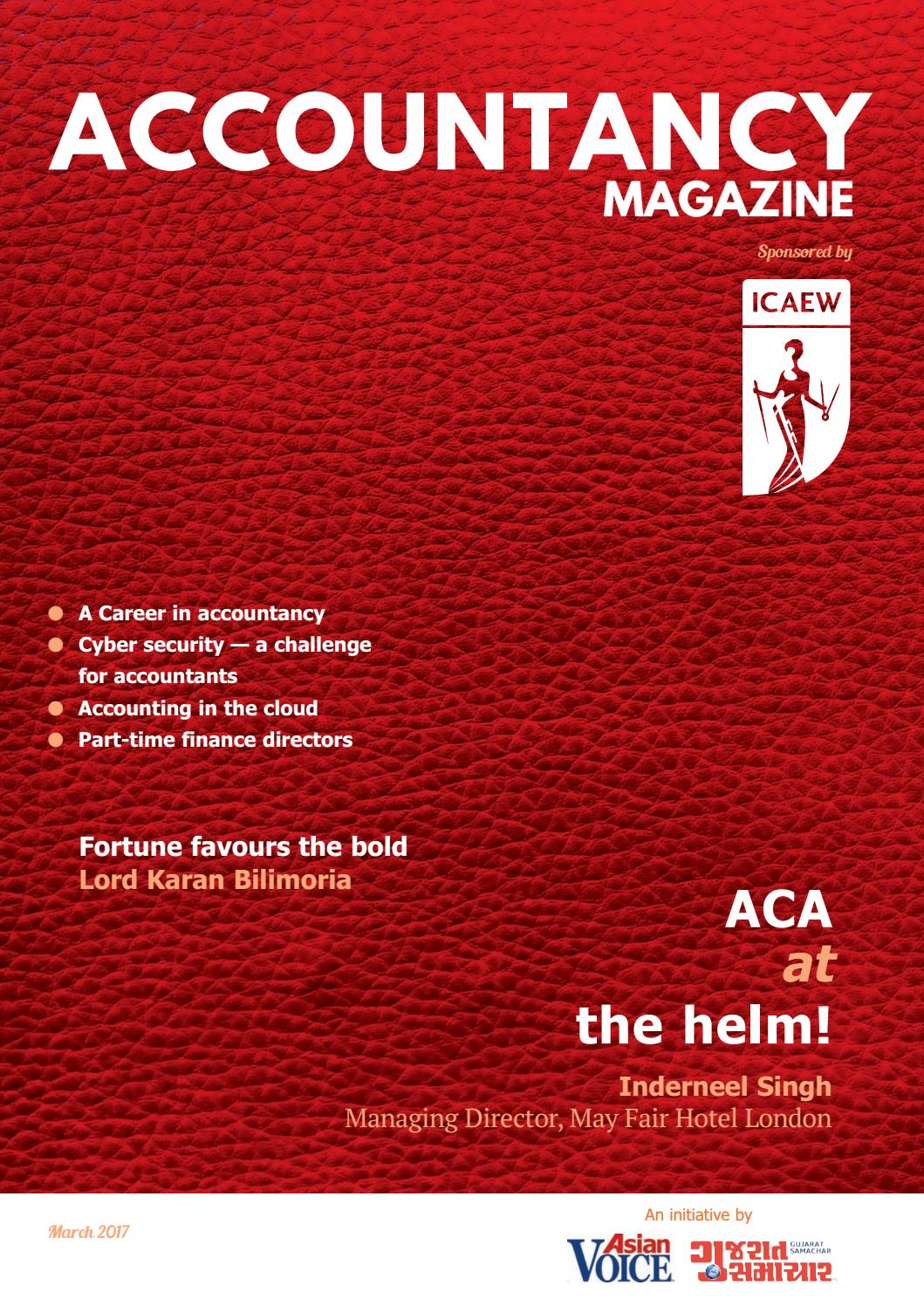Accountancy Magazine 2017 by Asian Business Publications