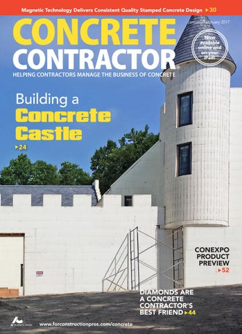 Concrete Contractor JanuaryFebruary 2017 by