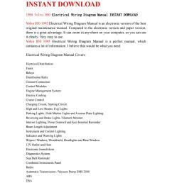 volvo 850 1995 electrical wiring diagram manual instant download by ksjefkmsef87 issuu [ 1059 x 1497 Pixel ]