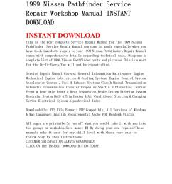 1999 nissan pathfinder service repair workshop manual instant download by ksjefkmsef87 issuu [ 1059 x 1497 Pixel ]