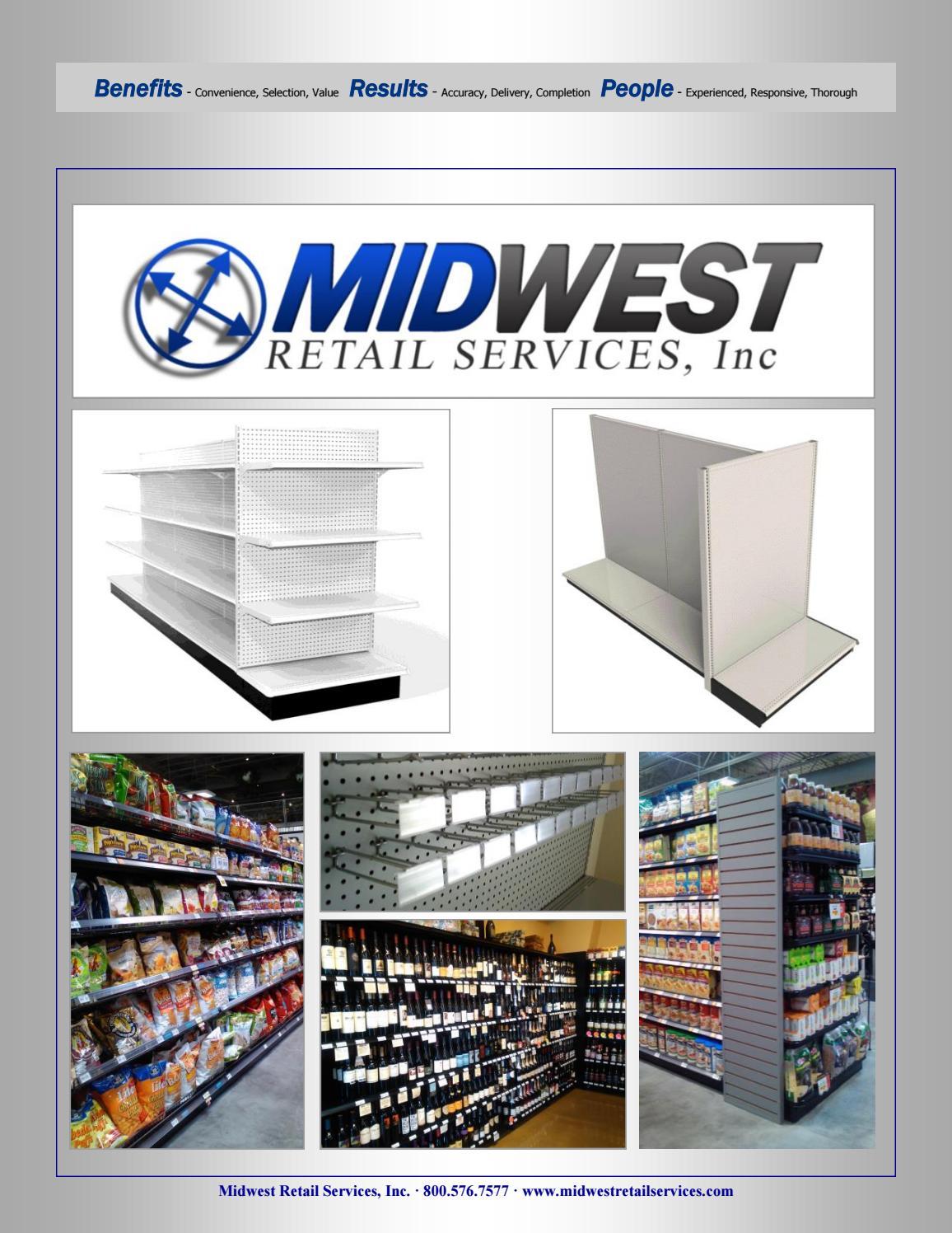 Midwest Retail Services Multibrand Distributor Gondolas