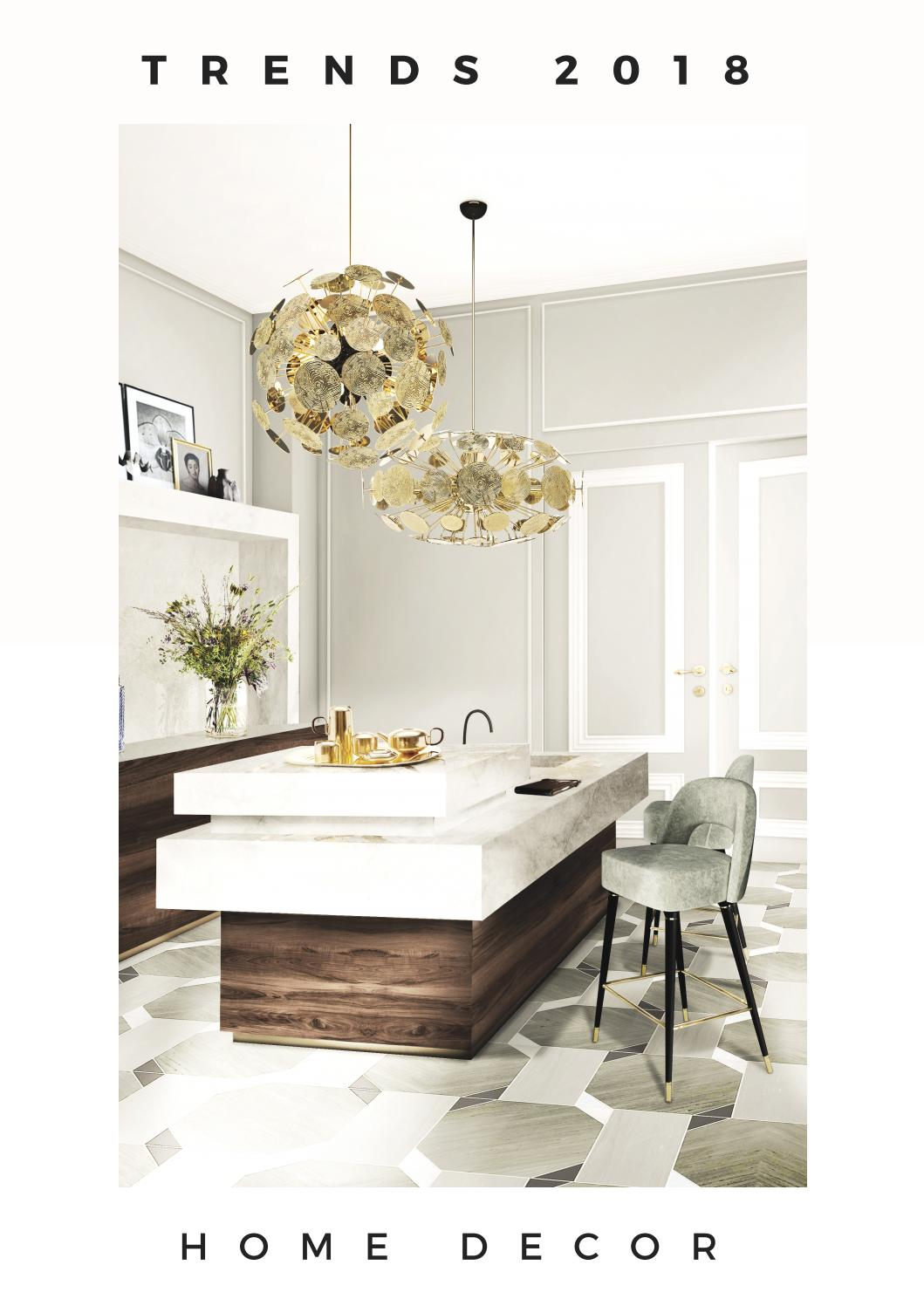 Home decor home ideas interior design trends 2018  Home  Living by HOME  LIVING MAGAZINES  Issuu