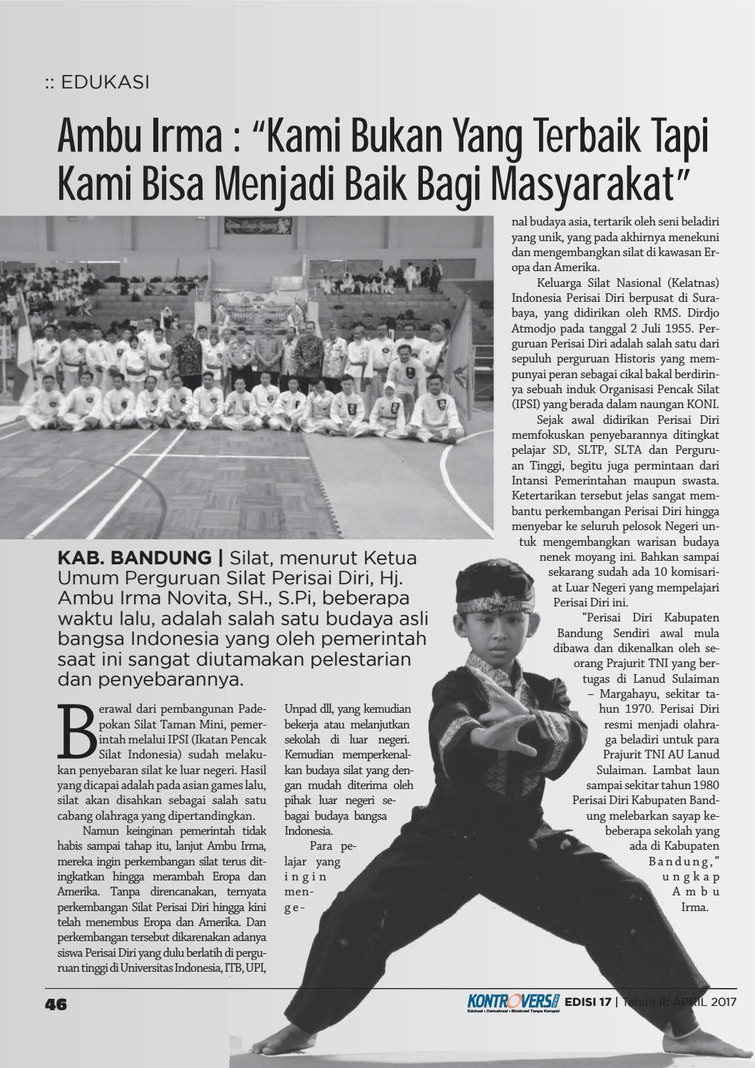 Perguruan Silat Terbaik Di Indonesia : perguruan, silat, terbaik, indonesia, Edisi, Wawan, Setiawan, Issuu