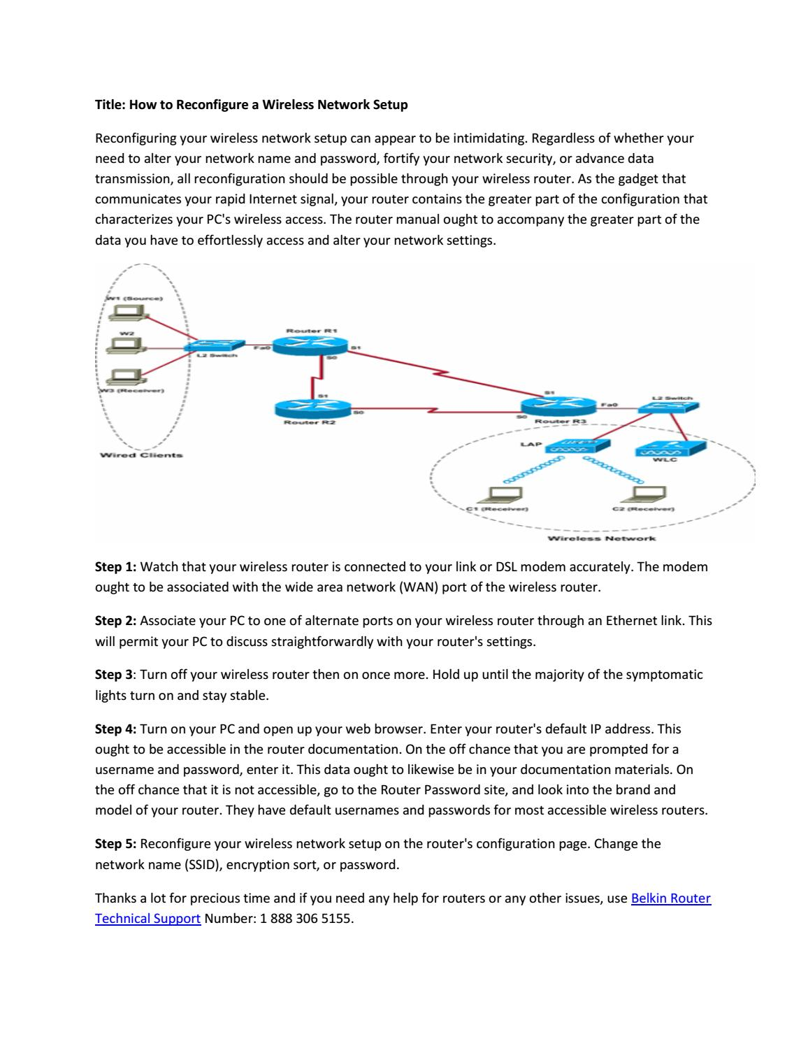 hight resolution of wireles network configuration diagram