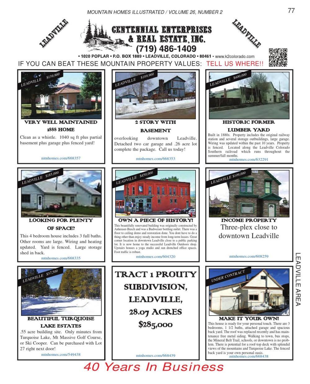 medium resolution of mountain homes illustrated vol 26 num 2