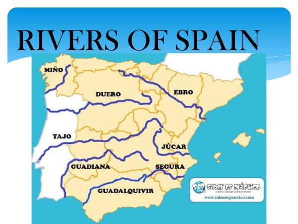 Rivers of Spain by lauracgteacher Issuu