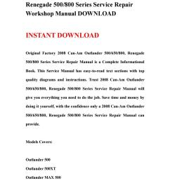 2008 can am outlander 500650800 renegade 500800 series service repair workshop manual download by ksjefhsnef issuu [ 1059 x 1497 Pixel ]