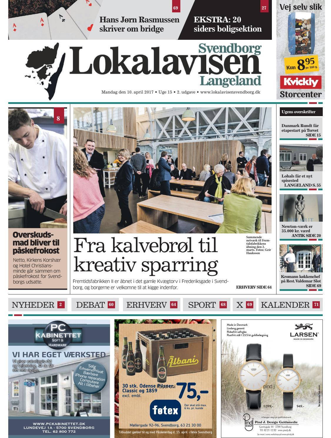 Lokalavisen Svendborg Uge 15 By Lokalavisen Svendborg Issuu