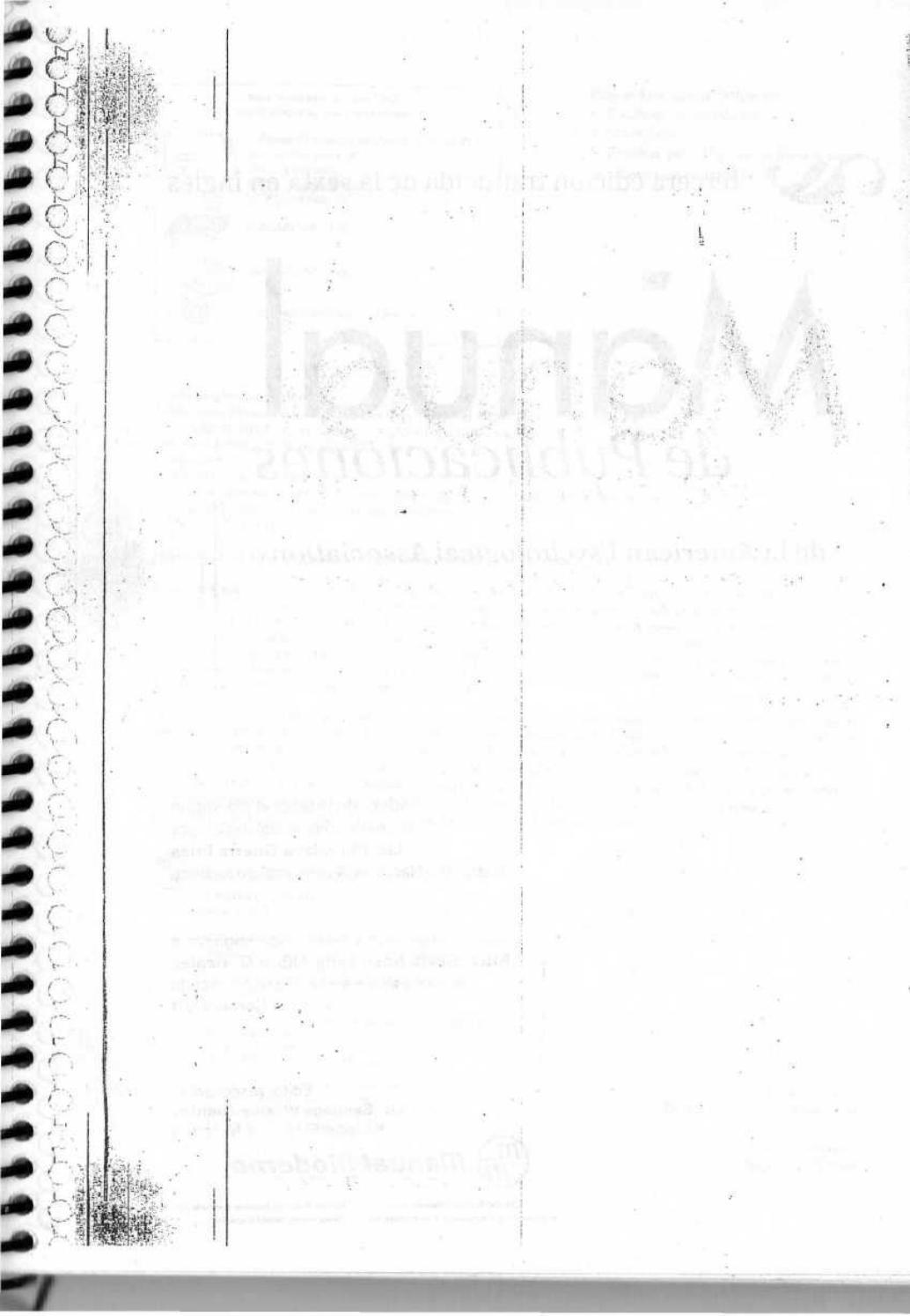 Manual completo apa 6 edicion español 2017 by Achatria