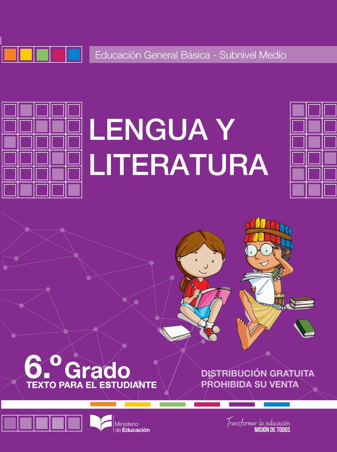 Lengua y literatura 6 by Antares altair  Issuu