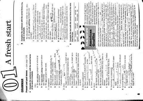 New Success Upper Intermediate Workbook un.1-7 (answers