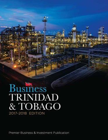 Business Trinidad  Tobago 2017  2018 Edition by Prestige