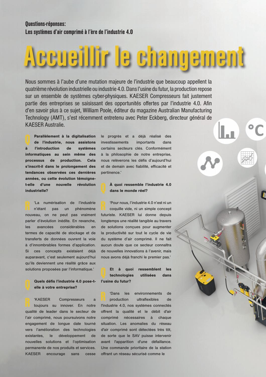 Avec Lui Les Solutions Sont Toujours Simples : solutions, toujours, simples, KAESER, Report, Nouvelle, Calédonie, 02/17, Compressors, Australia, Issuu