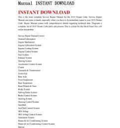 2010 nissan cube service repair manual instant download by kjjshefjnsnef issuu [ 1059 x 1497 Pixel ]