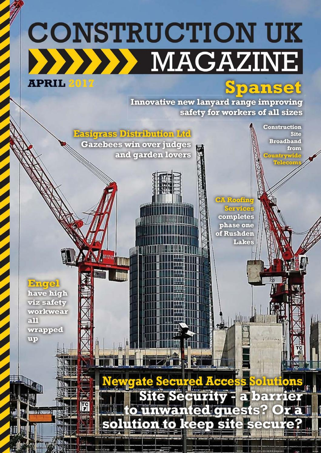 Construction UK Magazine  April 2017 by Lapthorn Media