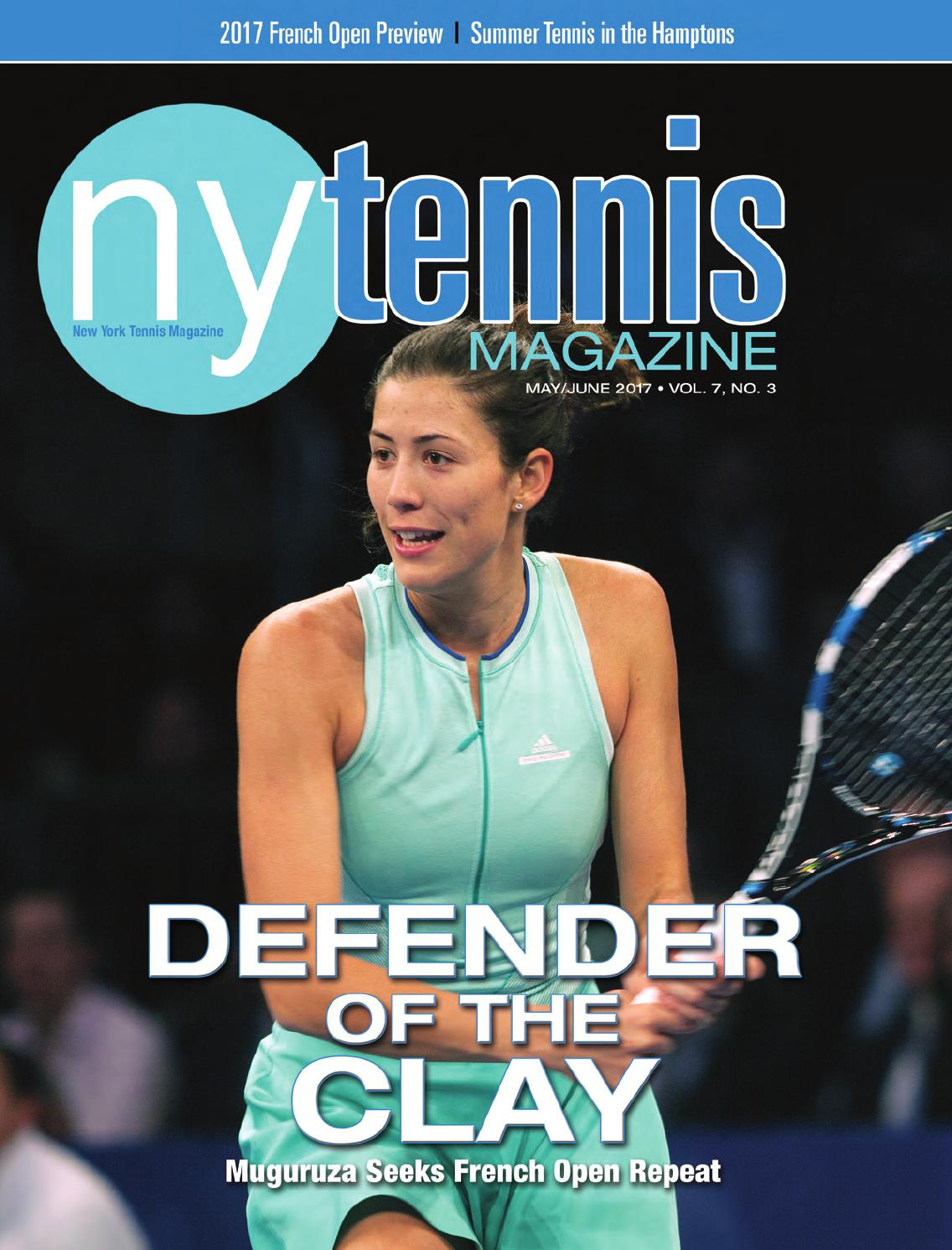 New York Tennis Magazine May June 2017 By NMP Media Corp Issuu