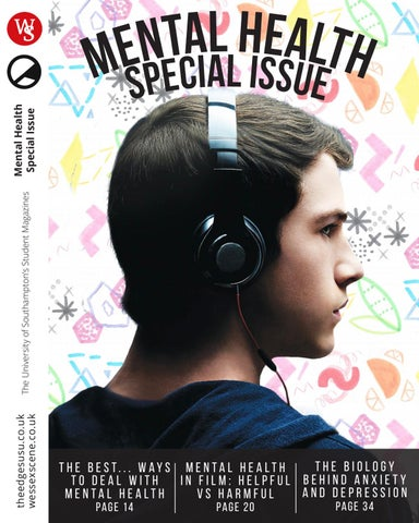 The Edge  Wessex Scene  Mental Health Special Issue May 2017 by The Edge  Issuu