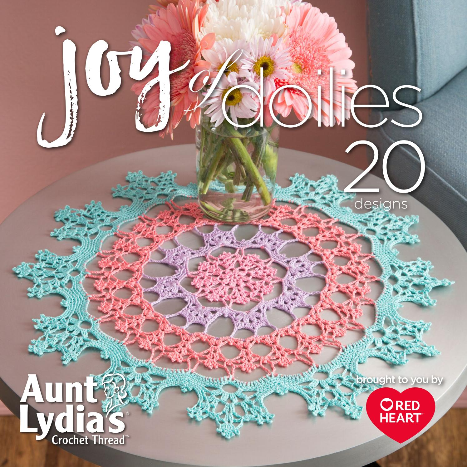 Joy of Doilies by Red Heart Yarns  Issuu