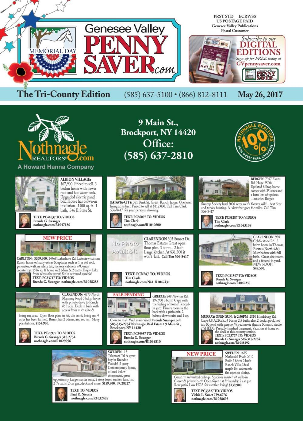 medium resolution of the genesee valley penny saver tri county edition 5 26 17 by genesee valley publications issuu