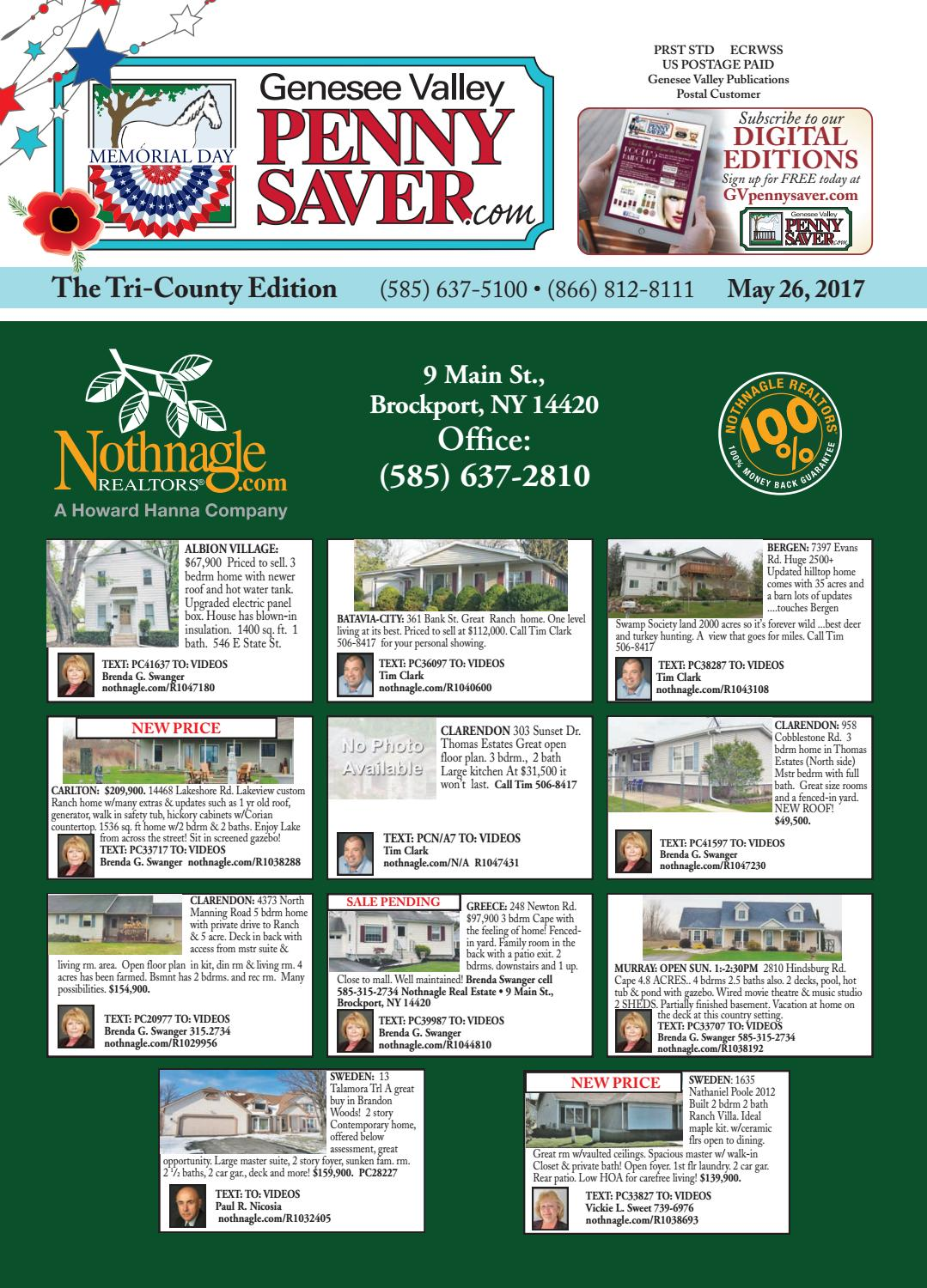 hight resolution of the genesee valley penny saver tri county edition 5 26 17 by genesee valley publications issuu