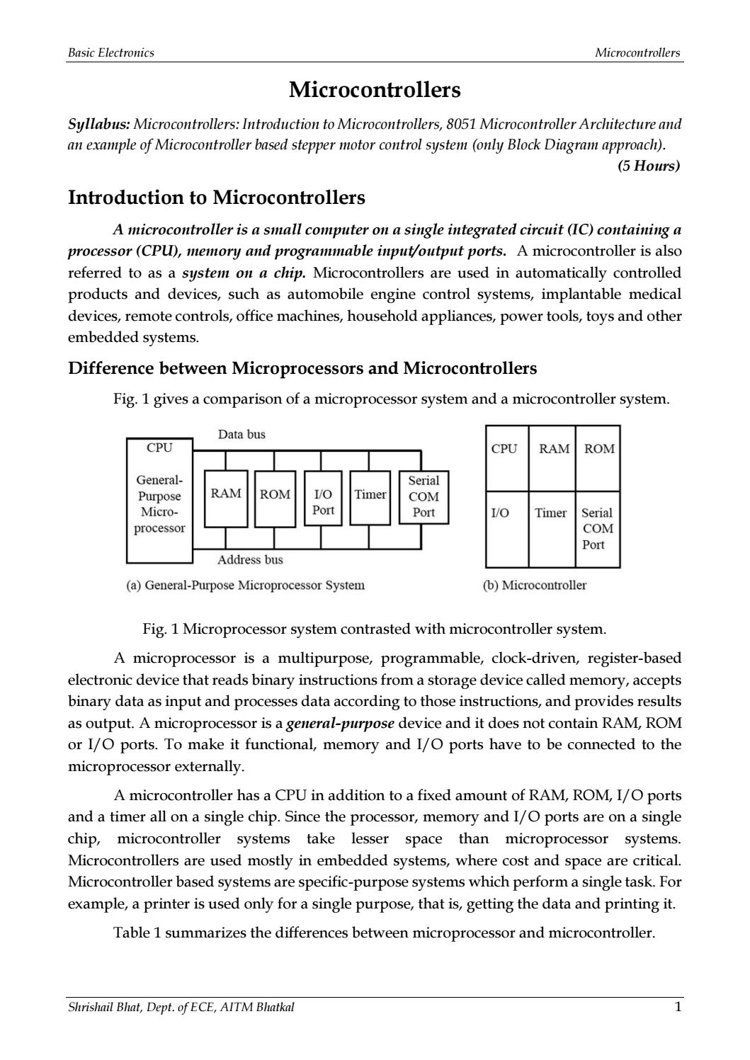 hight resolution of basic electronics microcontrollers module 4