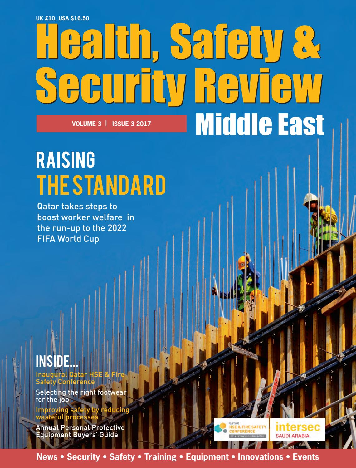Health Safety  Security Review issue 3 2017 by Alain Charles Publishing  Issuu