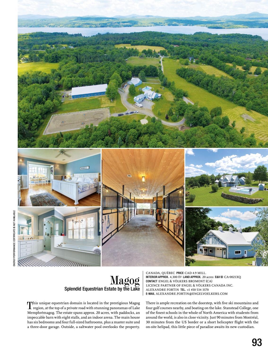 Lake Memphremagog Real Estate : memphremagog, estate, Magazine, 03/17, (english), GG-Magazine, Issuu