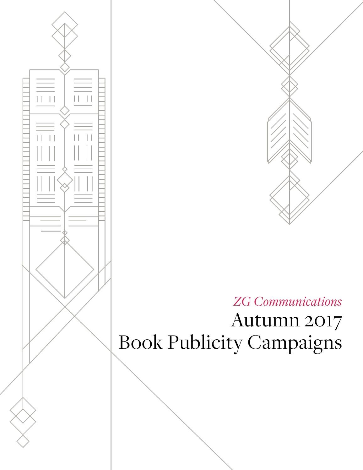 ZG Communications: Autumn Book Publicity Campaigns Summary
