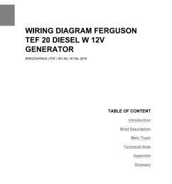 ferguson to 20 wiring diagram [ 1156 x 1496 Pixel ]