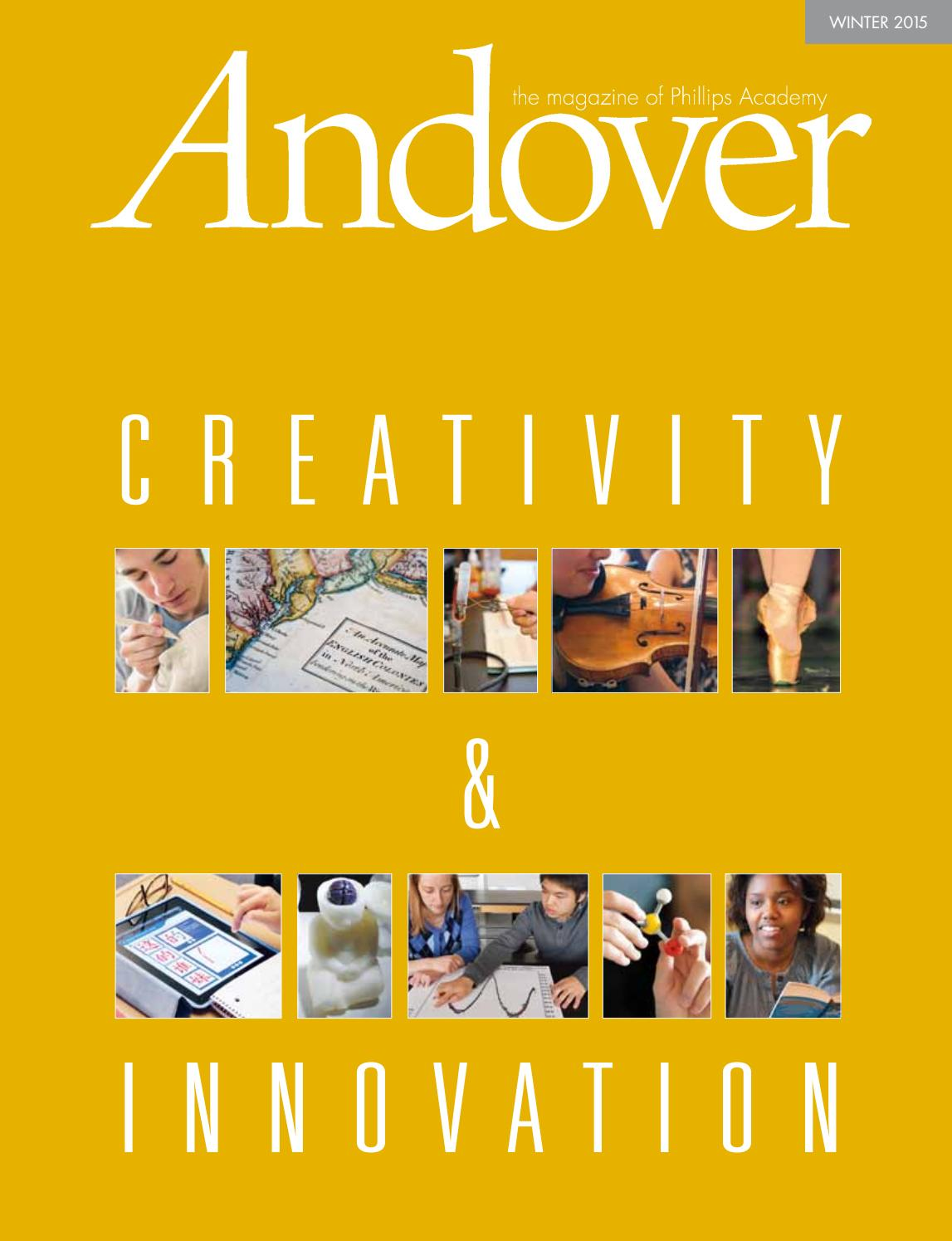 Andover magazine  Winter 2015 by Phillips Academy  Issuu