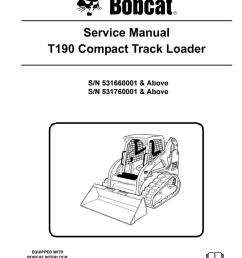 bobcat t190 compact track loader service repair manual snsn 531660001 above sn 531760001 above by ujhsenfnse issuu [ 1156 x 1496 Pixel ]