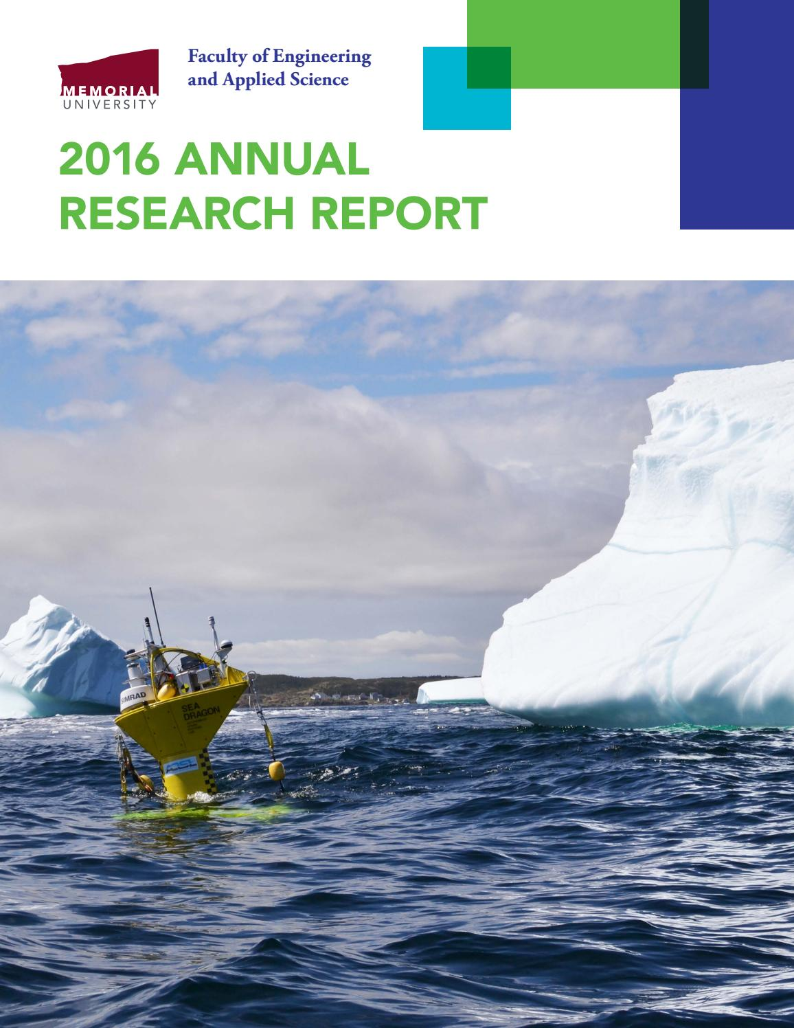nserc chair design engineering covers ideas 2016 research report faculty of and applied