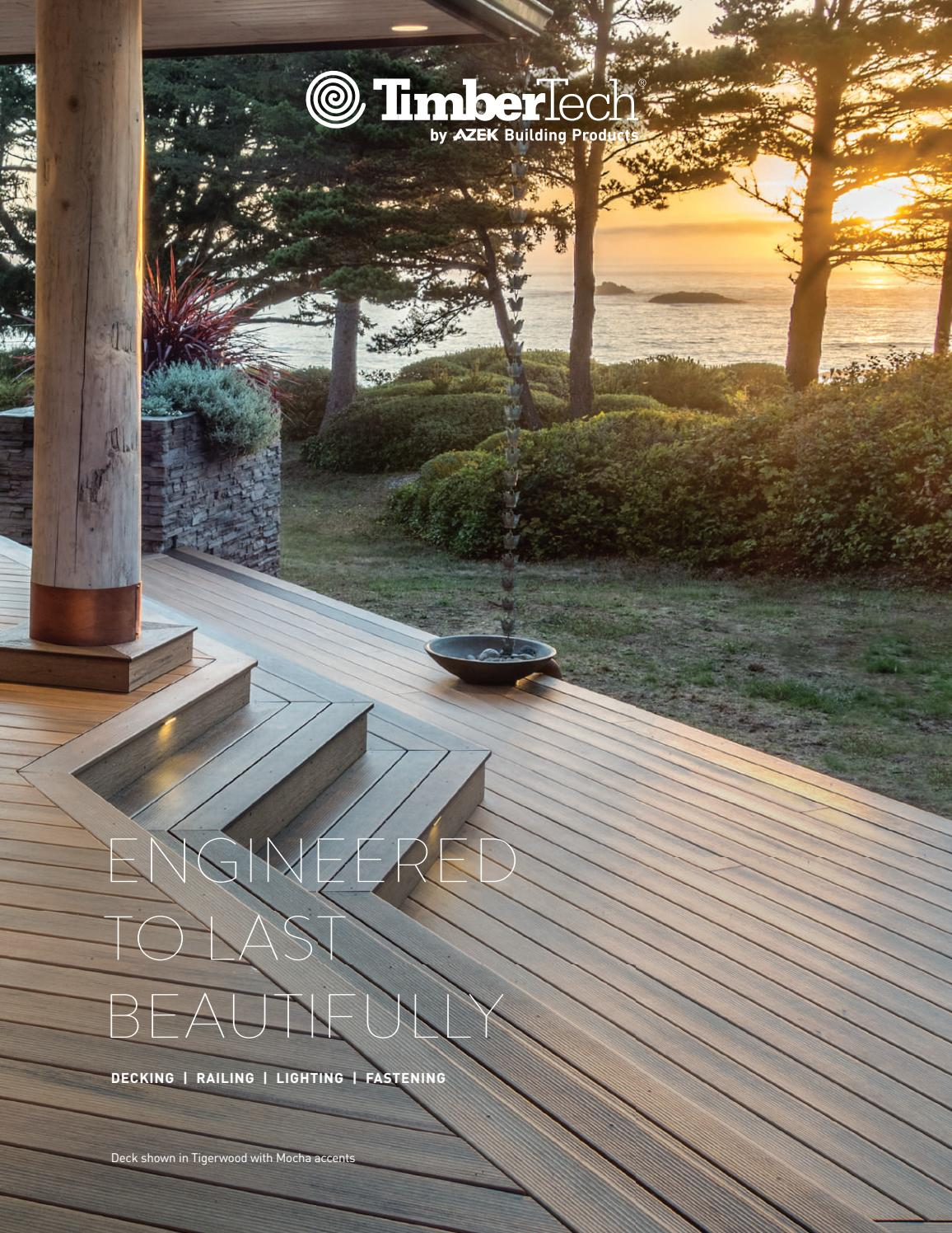 TimberTech Brochure 2017 by Meeks Lumber  Hardware  Issuu