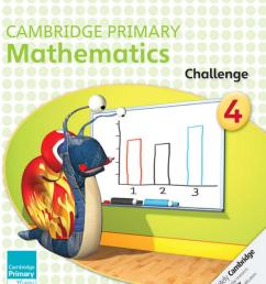Preview Cambridge Primary Mathematics Challenge 4 by Cambridge University  Press Education - issuu [ 1499 x 1195 Pixel ]