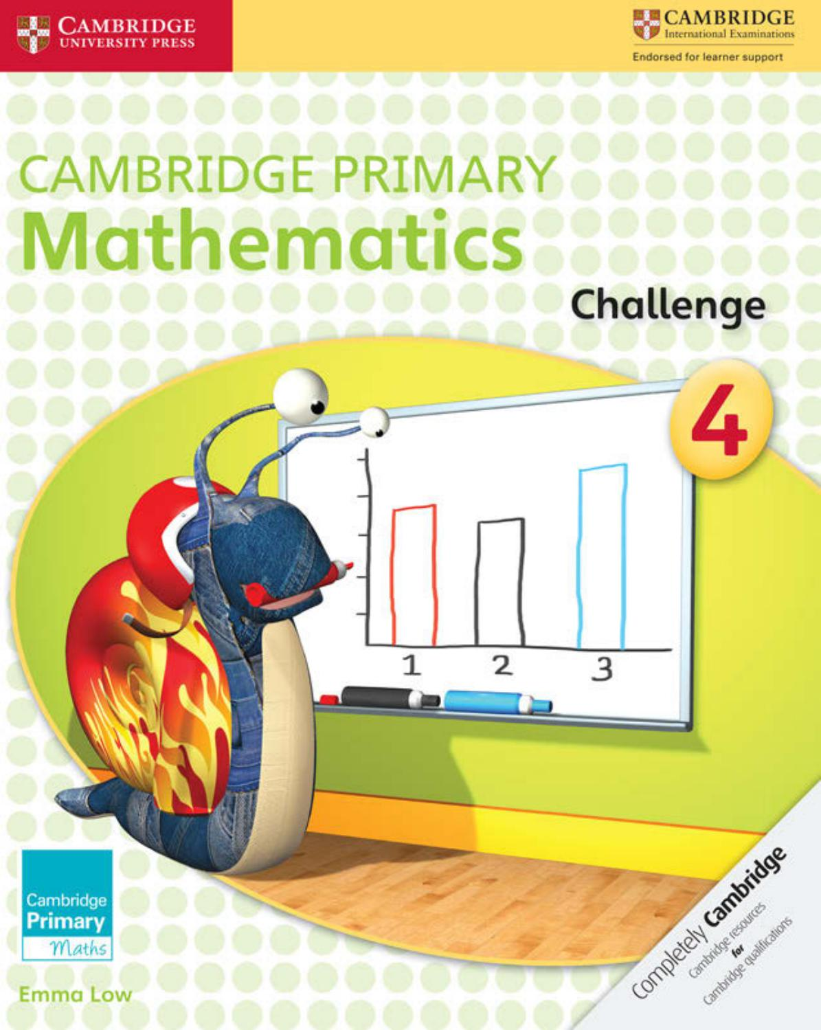 hight resolution of Preview Cambridge Primary Mathematics Challenge 4 by Cambridge University  Press Education - issuu