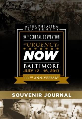 2017 Baltimore Convention Souvenir Journal by Alpha Phi