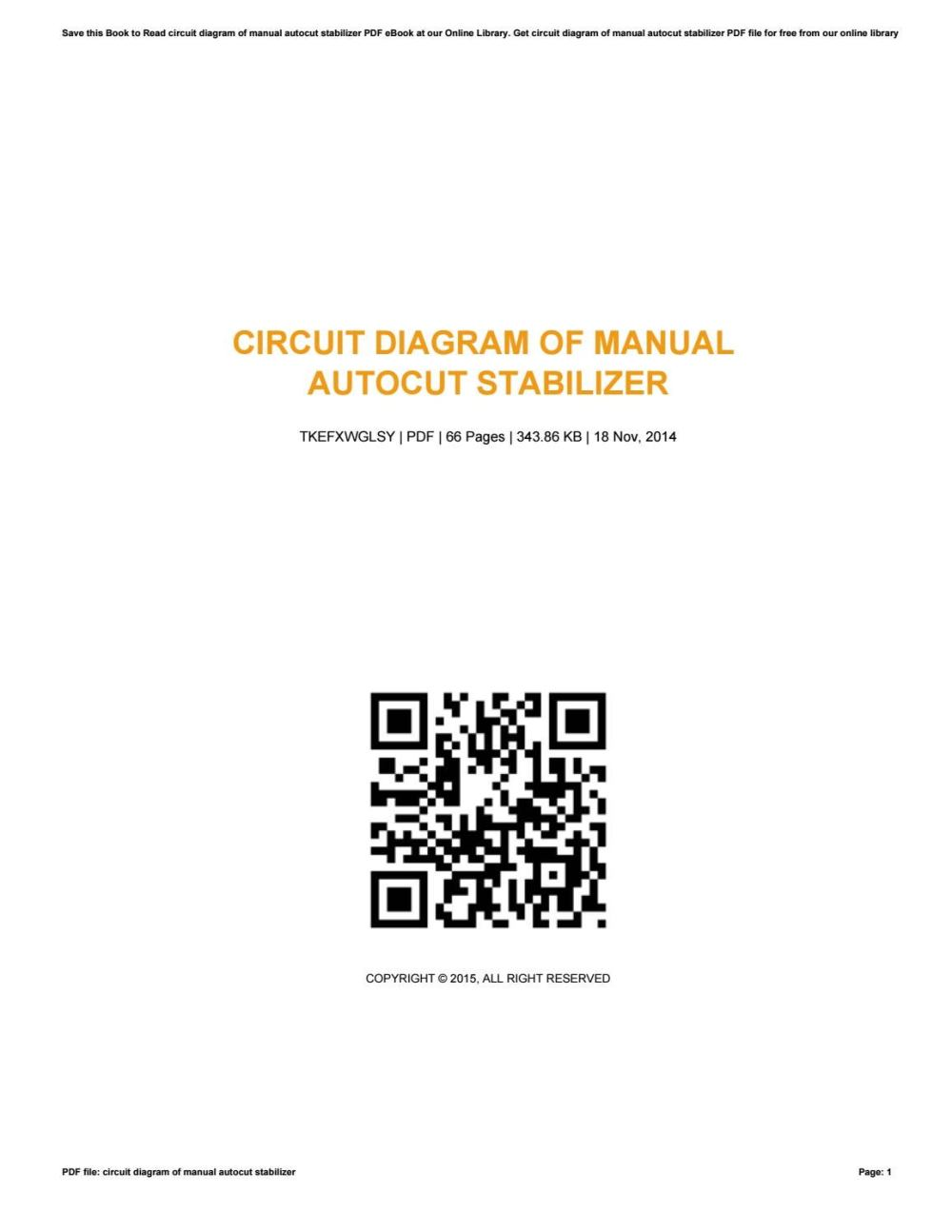 medium resolution of circuit diagram of manual autocut stabilizer by thelmahonaker4284 issuu