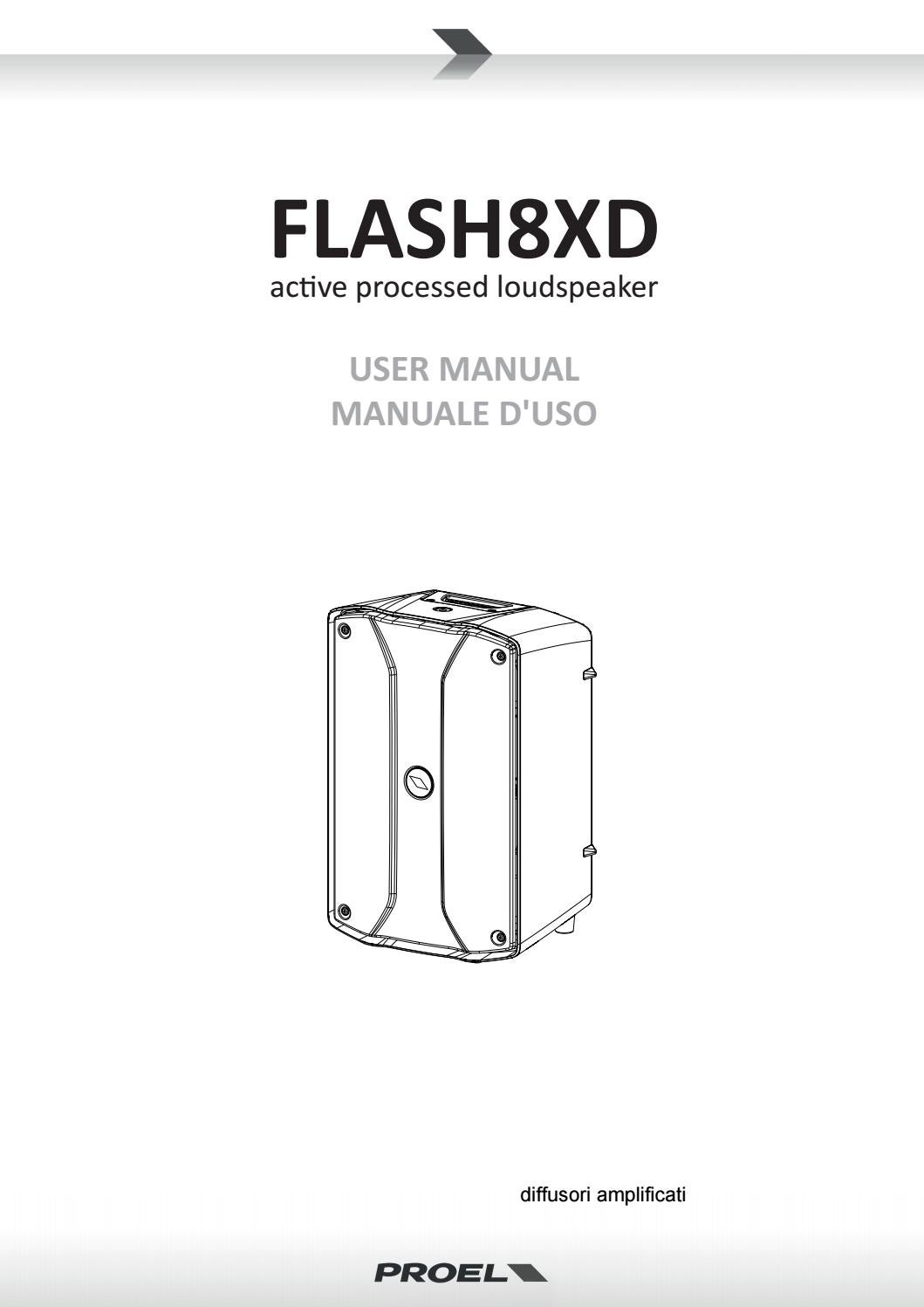 Manual flash8xd eng ita by Il Microfono audio-luci-store
