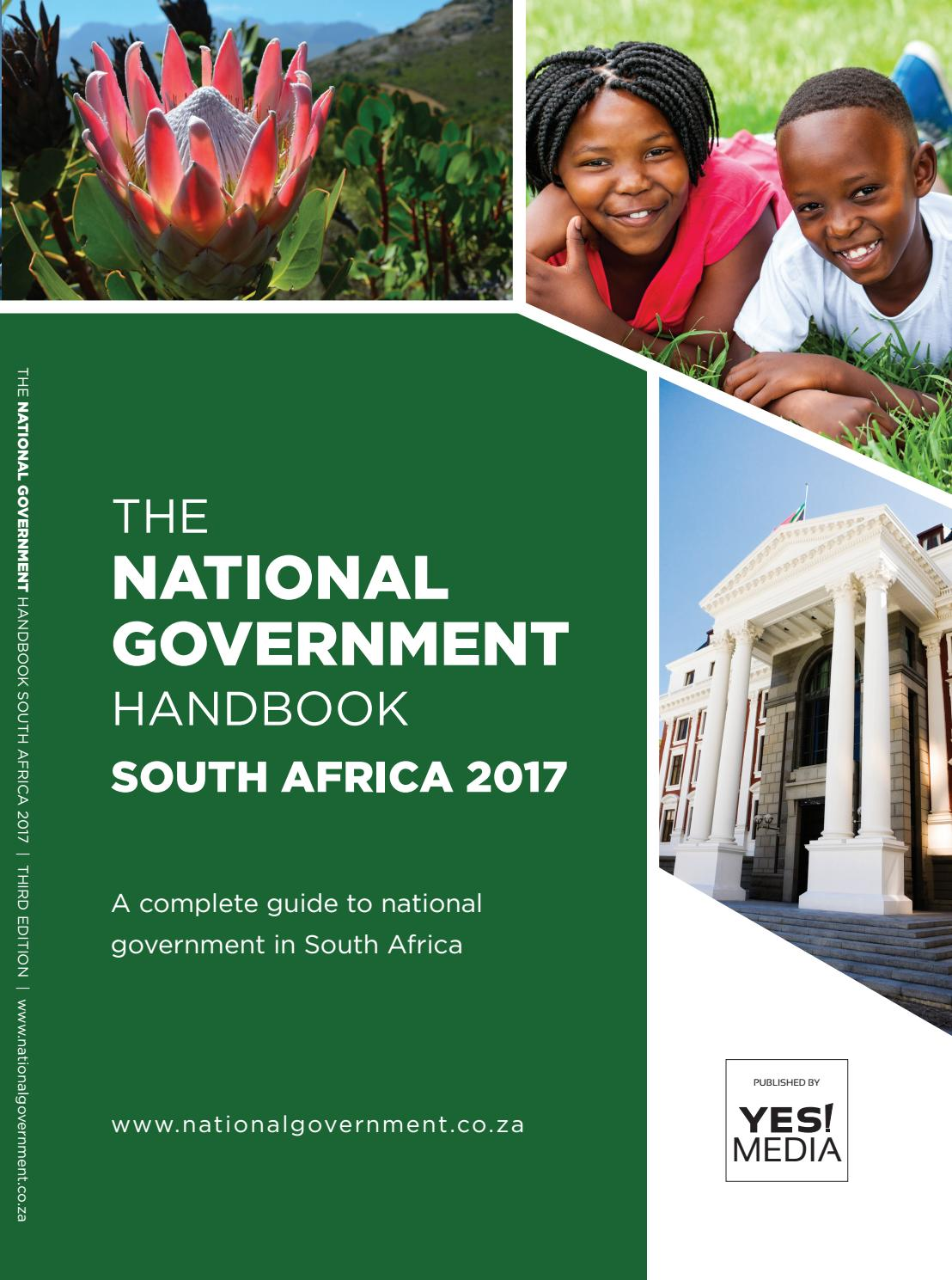 National Government Handbook  South Africa 2017 by Yes Media  Issuu