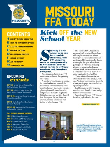 MO FFA Today By Missouri FFA Issuu
