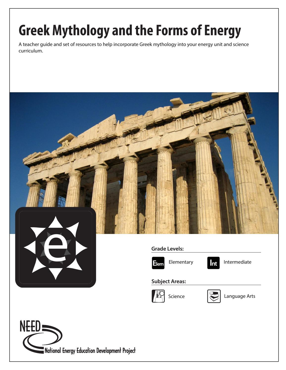 hight resolution of Greek Mythology and the Forms of Energy by NEED Project - issuu