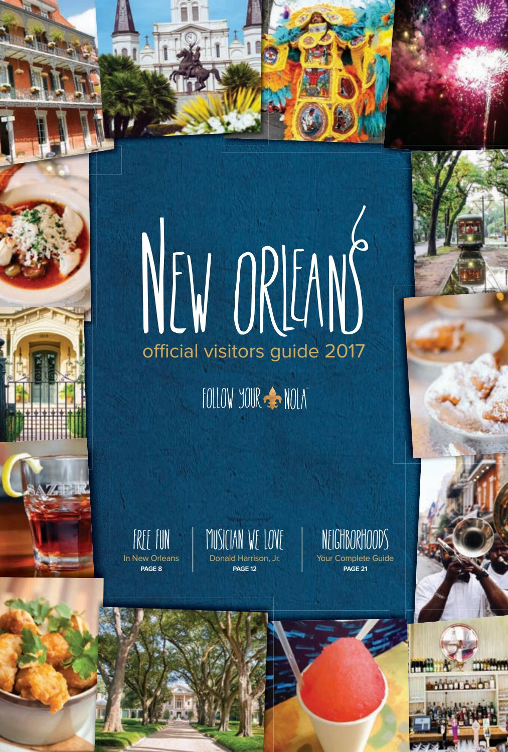 hight resolution of new orleans visitors guide 2017 july dec by new orleans tourism issuu