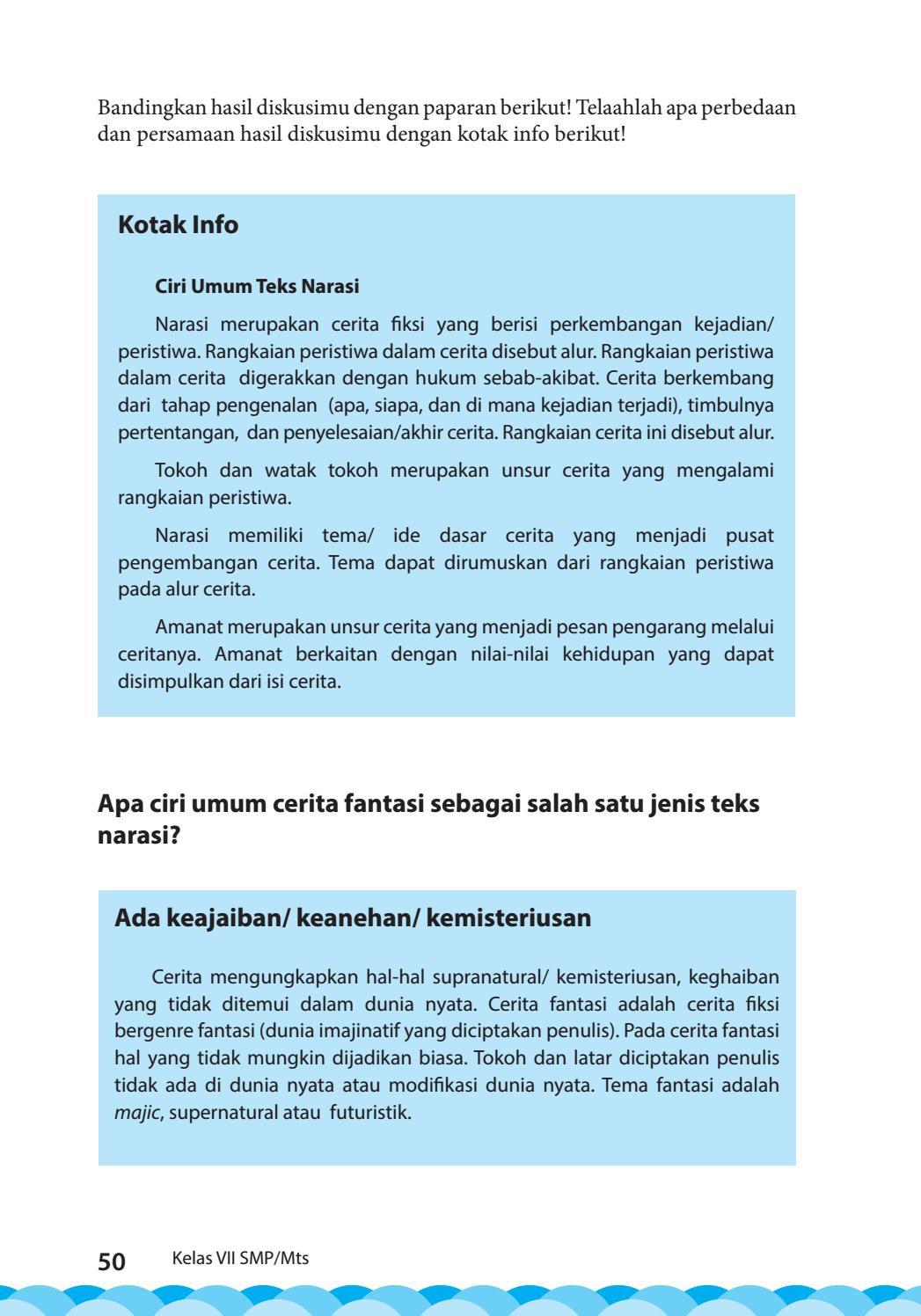 Penulis Cerita Disebut : penulis, cerita, disebut, Kelas, Bahasa, Indonesia, Siswa, Issuu