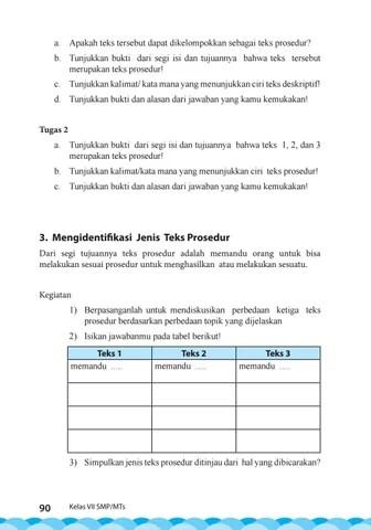 Jenis Jenis Prosedur : jenis, prosedur, Kelas, Bahasa, Indonesia, Siswa, Issuu