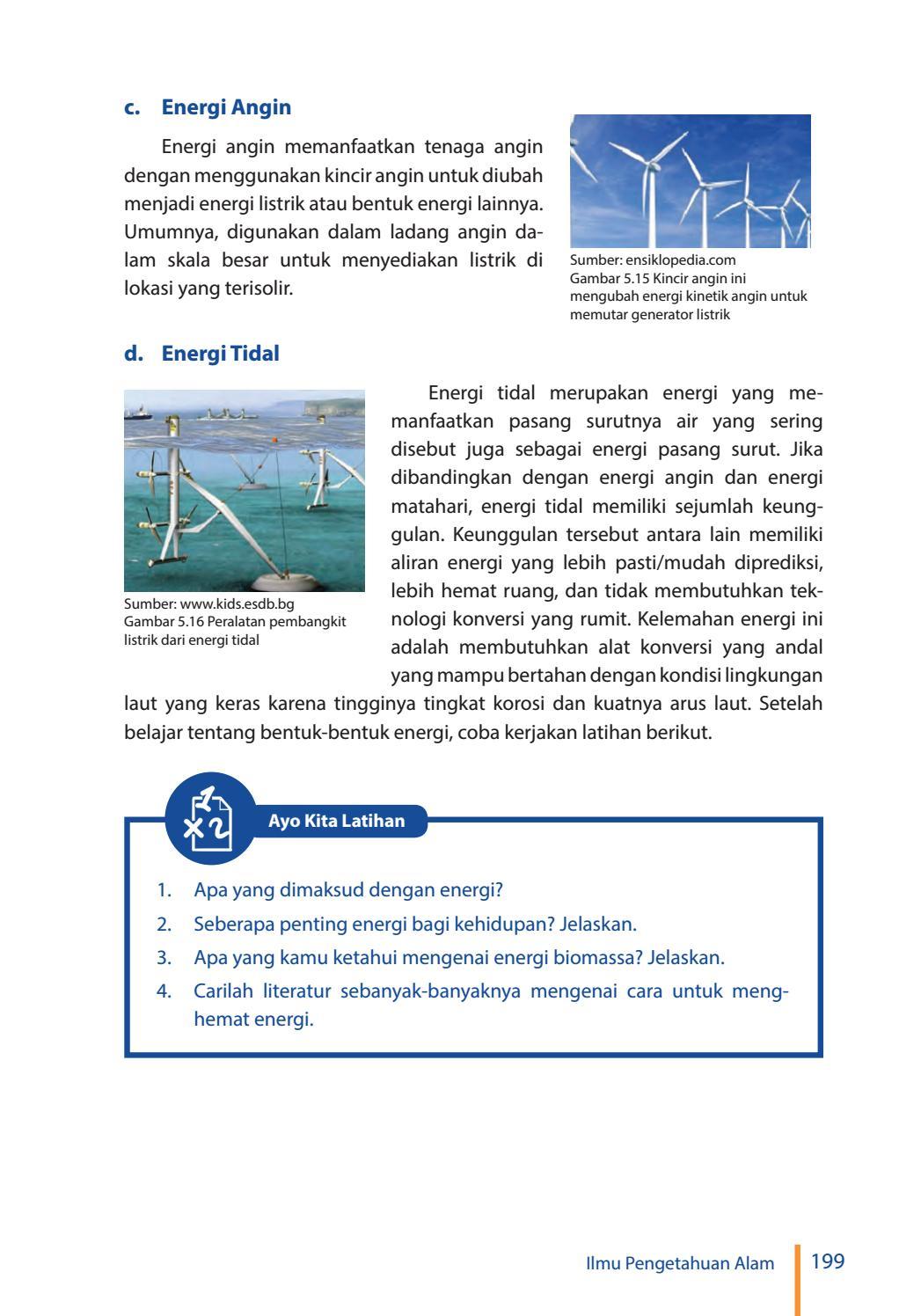 Seberapa Penting Energi Bagi Kehidupan Jelaskan : seberapa, penting, energi, kehidupan, jelaskan, Kelas, Pengetahuan, Siswa, Issuu