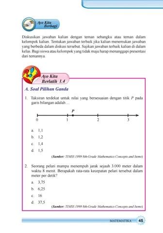 Taksiran Terdekat Untuk Nilai Yang Bersesuaian Dengan Titik P Pada Garis Bilangan Adalah : taksiran, terdekat, untuk, nilai, bersesuaian, dengan, titik, garis, bilangan, adalah, Kelas, Matematika, Siswa, Issuu